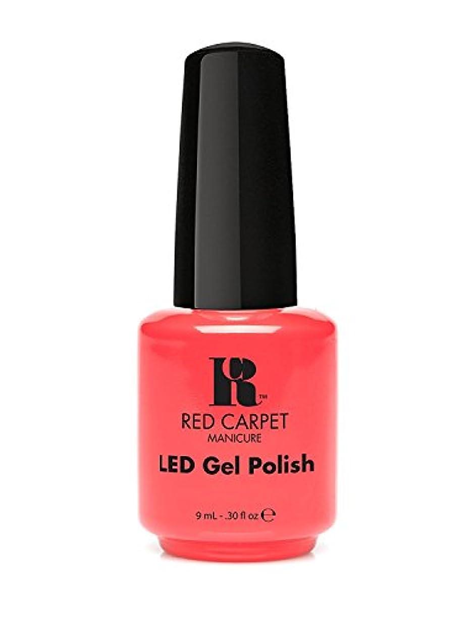 倉庫天の入射Red Carpet Manicure - LED Nail Gel Polish - Mimosa by the Pool - 0.3oz/9ml