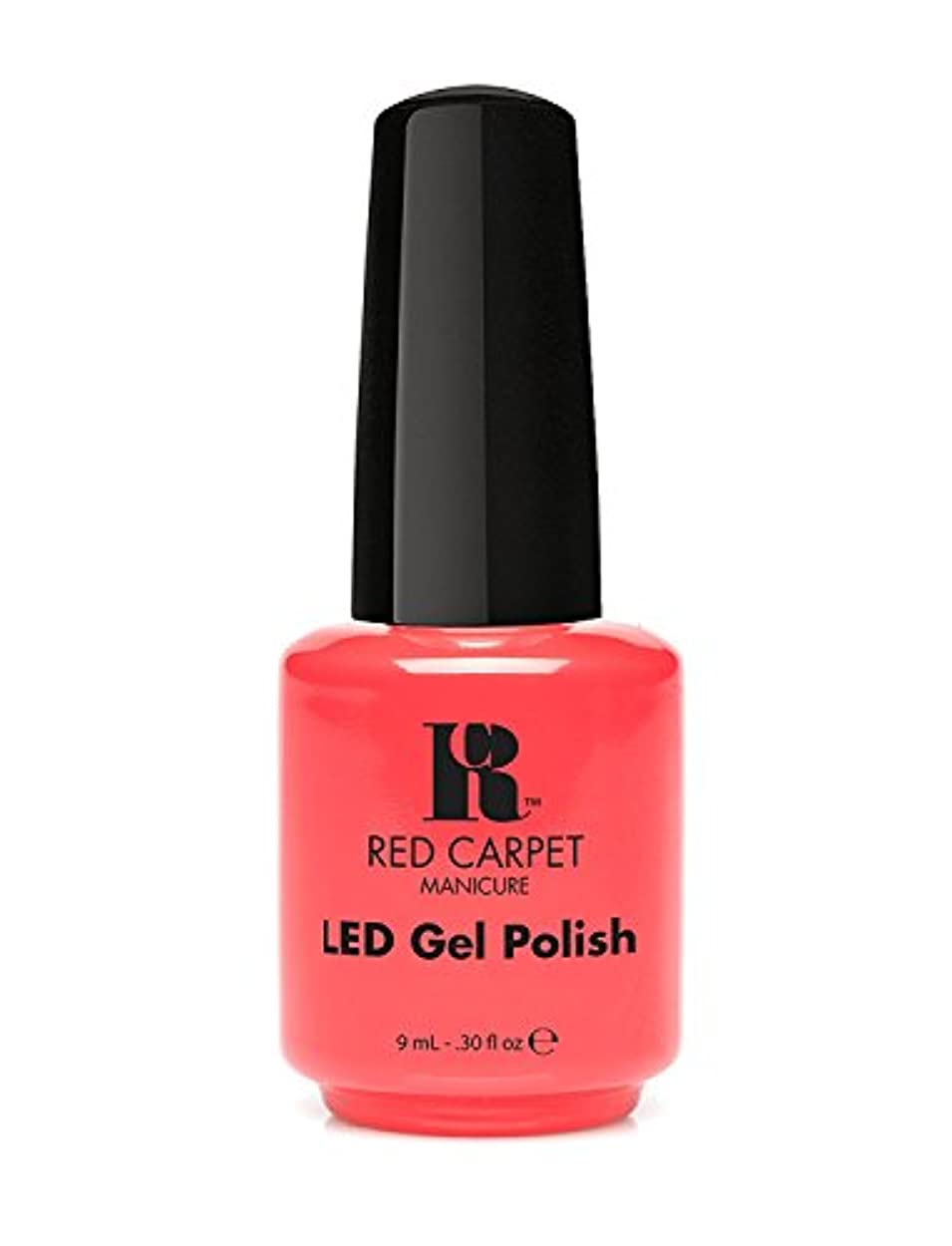 着る生産的ラフトRed Carpet Manicure - LED Nail Gel Polish - Mimosa by the Pool - 0.3oz/9ml