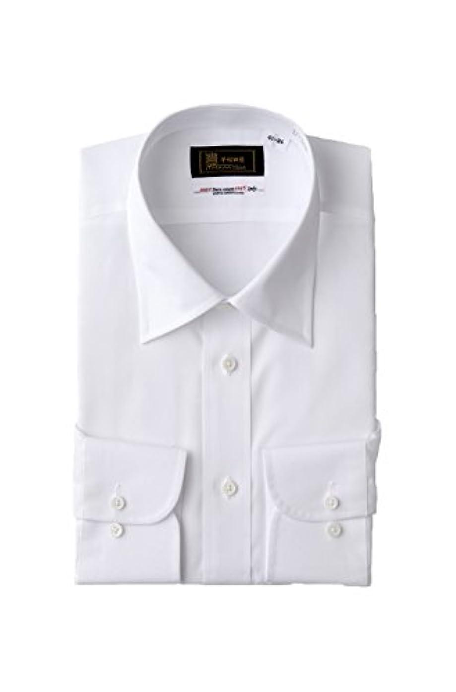 動かない汚いわずかな(モノワール) MONOIR 喪服 メンズ 礼服 日本製 レギュラーカラー シャツ ワイシャツ ビジネス ws1000