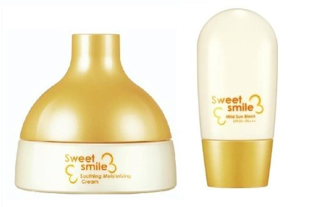 闘争魔法出発KOREAN COSMETICS, LG Household & Health Care_ SU:M37˚, Sweet Smile Set for baby (Soothing Moisturising Cream 125ml...