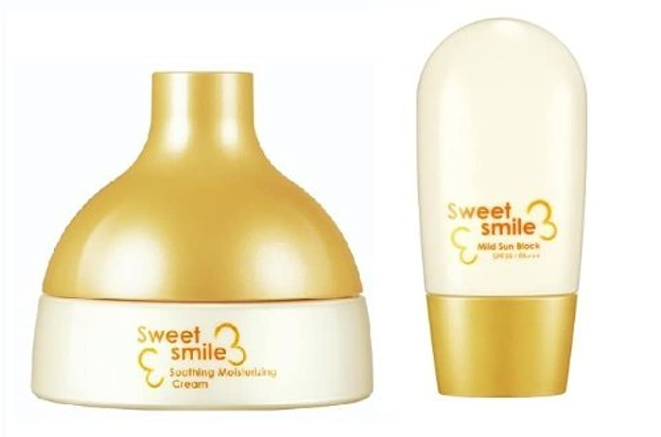 仮説ある肺炎KOREAN COSMETICS, LG Household & Health Care_ SU:M37˚, Sweet Smile Set for baby (Soothing Moisturising Cream 125ml...