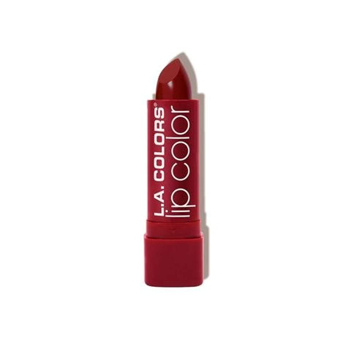 アルファベットブルゴーニュかかわらずL.A. COLORS Moisture Rich Lip Color - Luscious Wine (並行輸入品)
