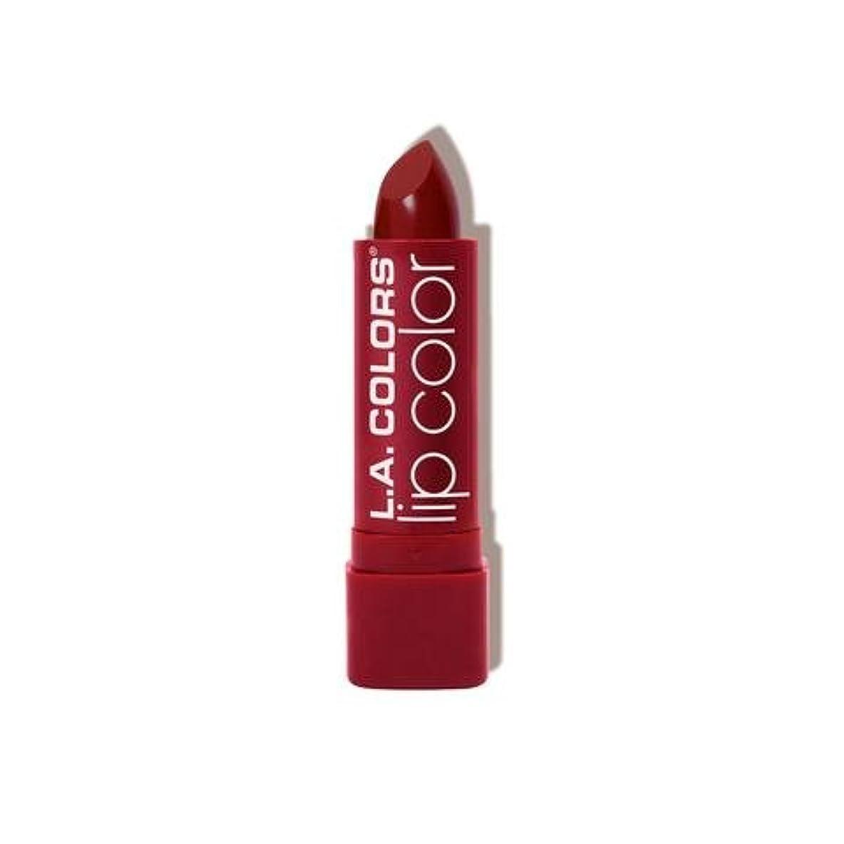 なめらかな税金深くL.A. COLORS Moisture Rich Lip Color - Luscious Wine (並行輸入品)