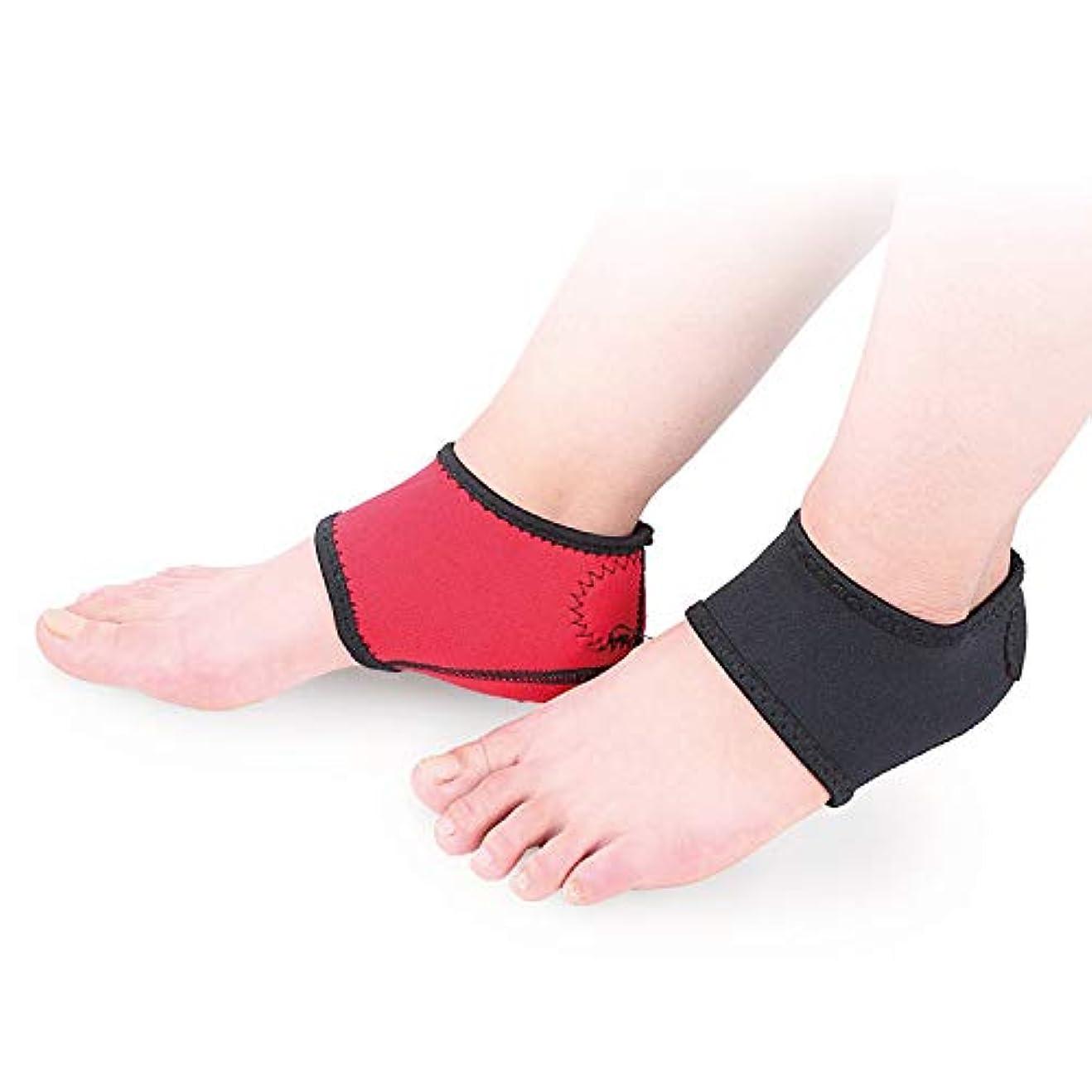 実験室安心させるトラフィックかかとサポーター 2個セット 靴下 足底筋膜炎 保護 痛み軽減 剣道 ウォーキング