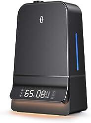 TaoTronics Humidifiers, 6L Ultrasonic Cool Mist Humidifier with Humidistat, 26dB Whisper Quiet, LED Display, W