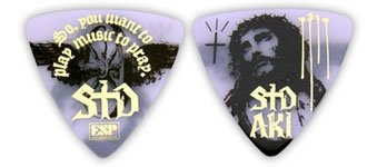 ESP 明希(シド)PICK/WHITExGOLD(New)