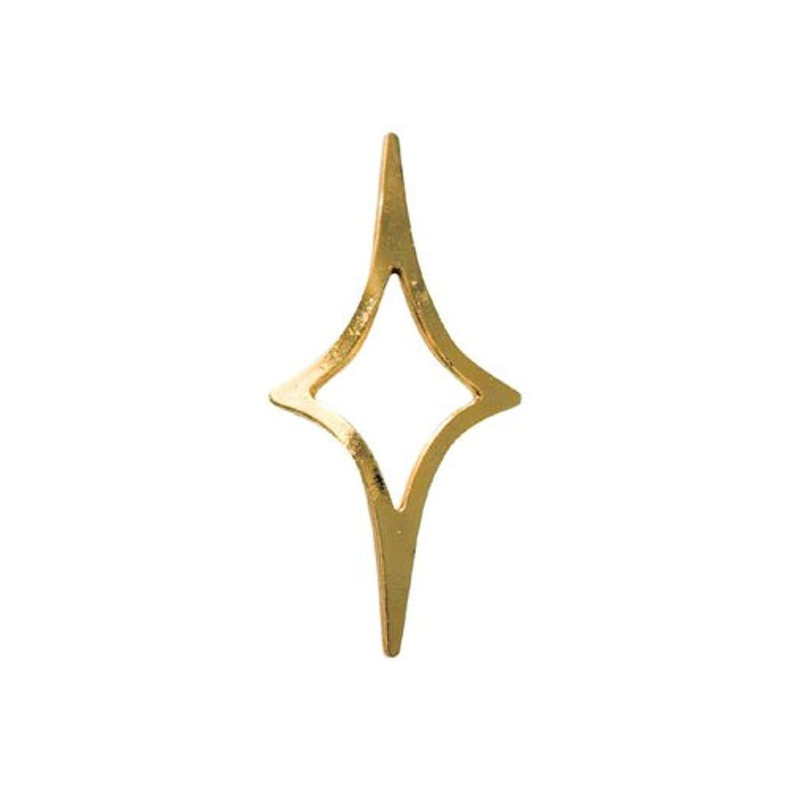 エスカレートラッカスティーンエイジャーリトルプリティー ネイルアートパーツ キラキラ2 3S ゴールド 20個