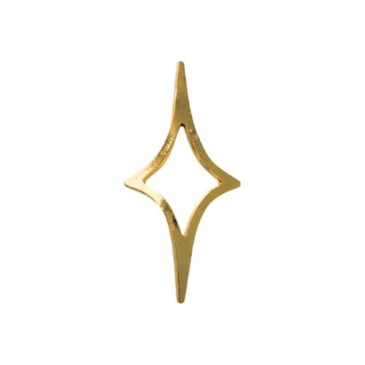 首尾一貫したマーク冬リトルプリティー ネイルアートパーツ キラキラ2 3S ゴールド 20個