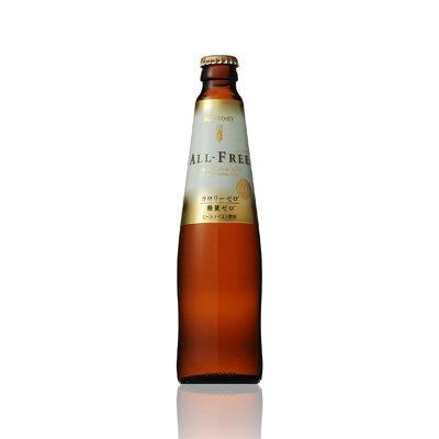 世界初ノンアルコールでカロリーゼロ・糖質ゼロ アルコール0.00%サントリーオールフリー ☆334ml瓶×30本(プラケース入)