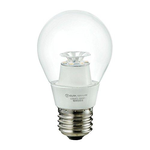 ELPA LED電球クリア電球タイプ 電球色 30W形相当 325lm E26口金 LDA4CL-G5051 1セット 2個:1個×2