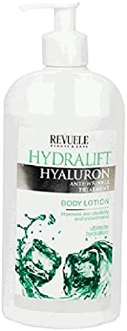 Revuele Hydralift Hyaluron Moisturising Body Lotion with Hyaluronic Acid, 400 milliliters