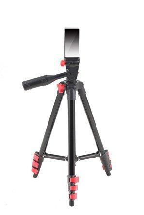 FOSOTO 三脚+フォングリップ スマートフォン 小型カメラ対応 (ブラック)