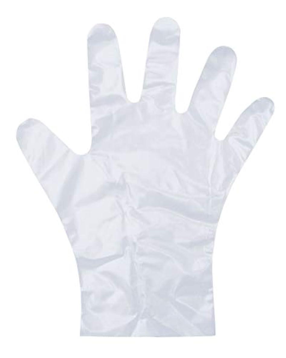 振動させるに変わる漂流ダンロップ ホームプロダクツ ポリエチレン手袋 使い捨て エンボス 半透明 M 調理 掃除 洗濯 介護 毛染め PD-110 100枚入