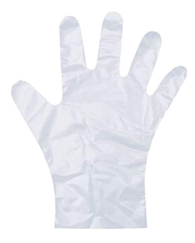 根拠花輪ワイヤーダンロップ ホームプロダクツ ポリエチレン手袋 使い捨て エンボス 半透明 L 調理 掃除 洗濯 介護 毛染め PD-110 100枚入