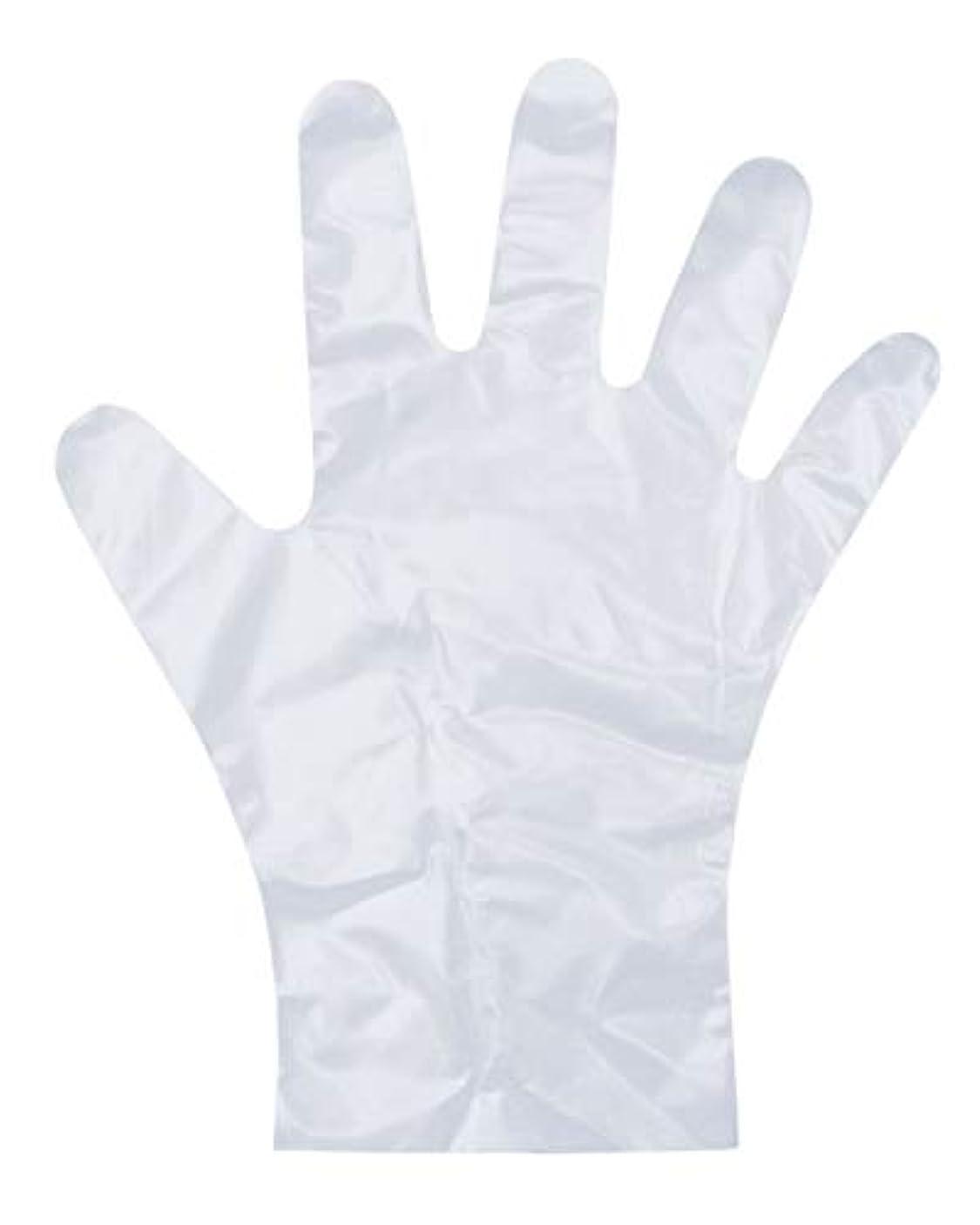 ガウン蜜簡単にダンロップ ホームプロダクツ ポリエチレン手袋 使い捨て エンボス 半透明 S 調理 掃除 洗濯 介護 毛染め PD-110 100枚入