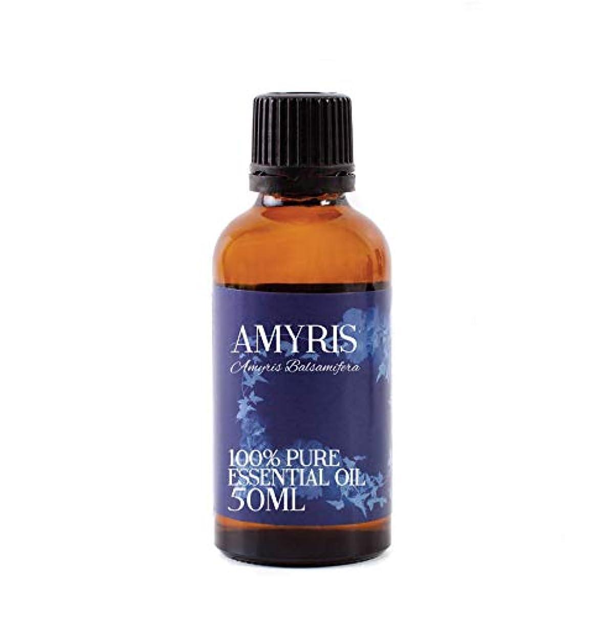 矢不足穀物Mystic Moments   Amyris Essential Oil - 50ml - 100% Pure