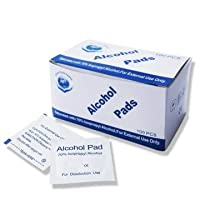 アルコールパッド 100枚入り 除菌 抗菌 アルコールコットン 除菌シート 使い捨て 殺菌 シート