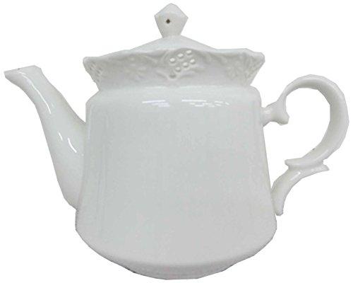 Whirl ヨーロピアン調 紅茶 ティータイム シリーズ 陶器 の 紅茶ポット ティーポット