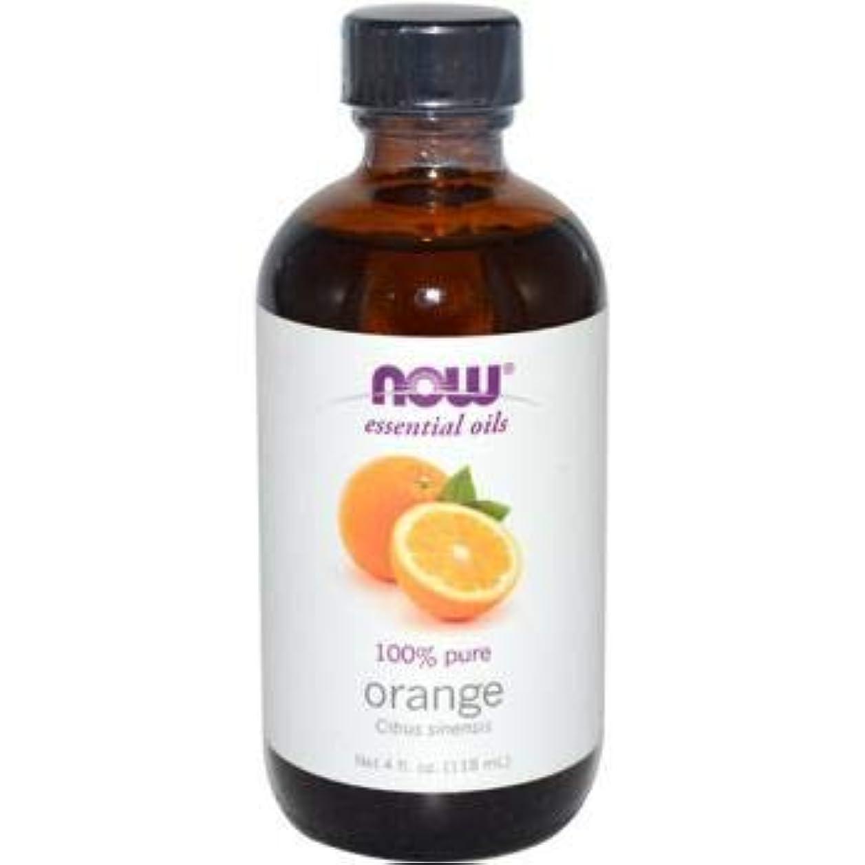 バトル幻想的アラートNOW Foods - オレンジオイル - 4ポンド