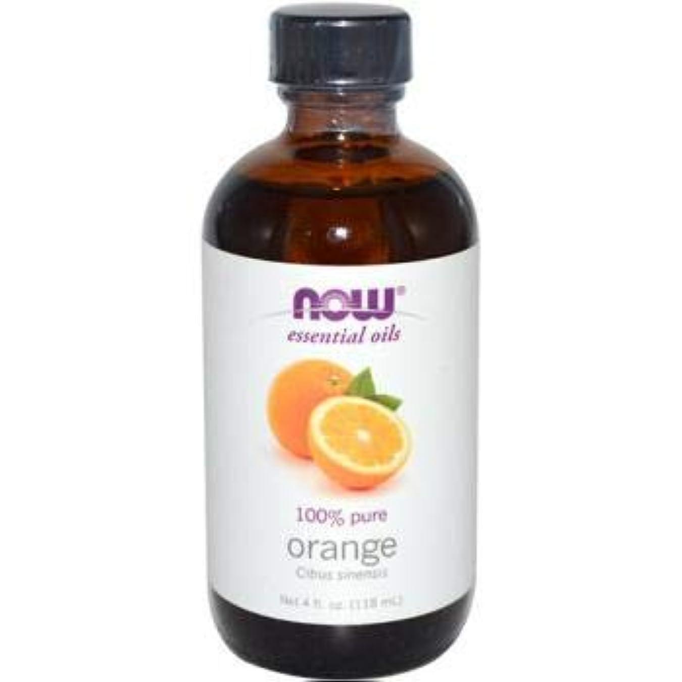 信頼性ローブ通信網NOW Foods - オレンジオイル - 4ポンド