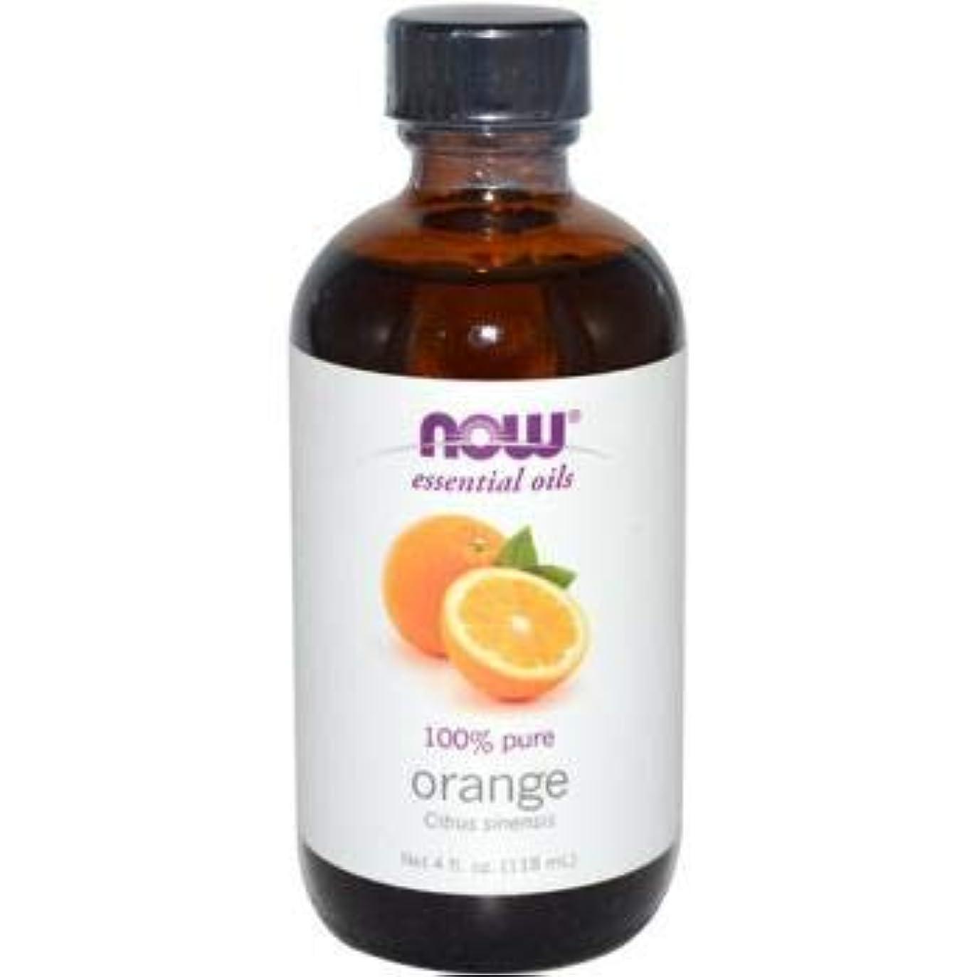 山岳フィードバック逃すNOW Foods - オレンジオイル - 4ポンド
