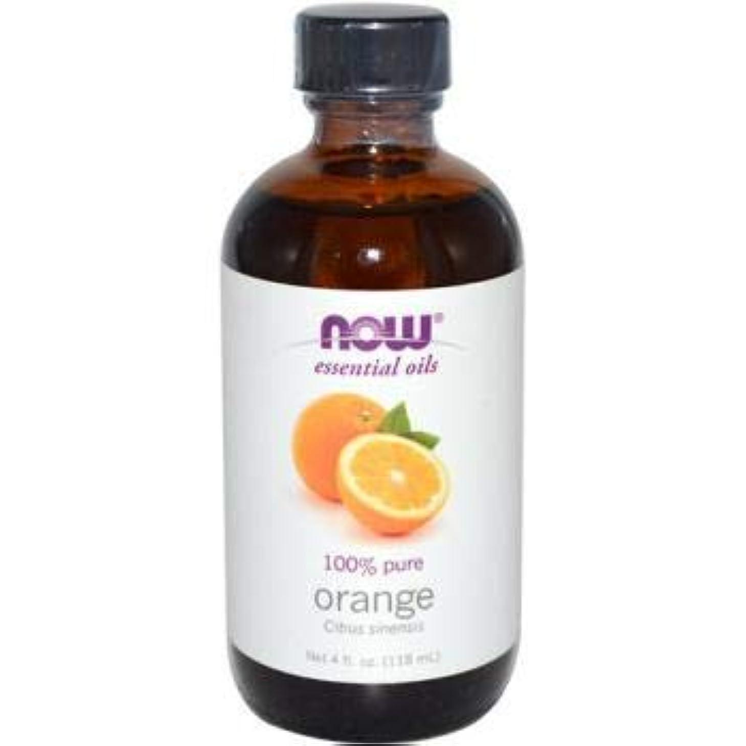 ひいきにする松明口述するNOW Foods - オレンジオイル - 4ポンド