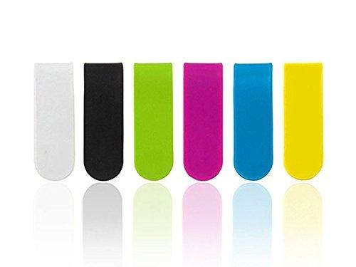NextStyle マグネットクリップ 万能クリップ 選べて嬉しいカラー全6色 組合わせ自由自在 まとめ買いでお得 コード収納など色々使えて便利 (ホワイト)