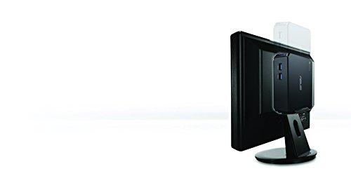 『【日本正規品】 ASUS ChromeBox シリーズ 日本語キーボード付属 ( ChromeOS / Celeron 2955U / 4GB / SSD 16GB / 無線LAN / HDMI ver1.4a DisplayPort1.2a / カードリーダー / ワイヤレスキーボード・マウス / ブラック ) CHROMEBOX-M130U』の8枚目の画像