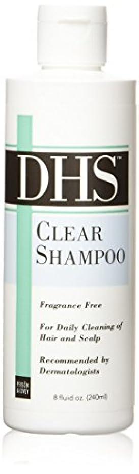 大事にするベイビー代数的海外直送肘 Dhs Clear Shampoo Fragrance Free, Fragrance Free 8 oz
