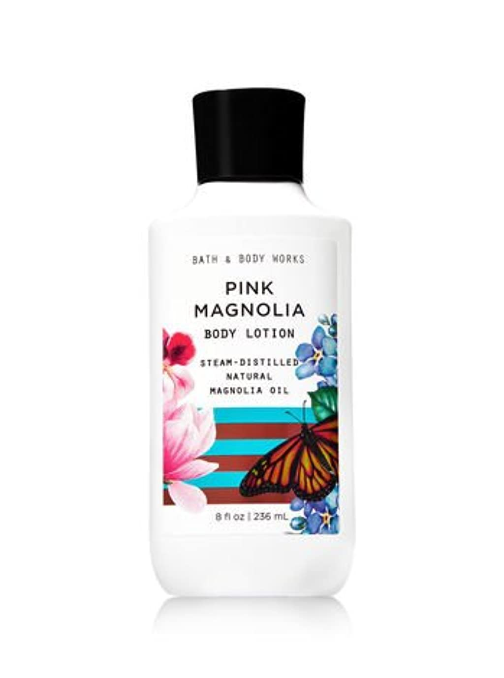 キーマイコンバブル【Bath&Body Works/バス&ボディワークス】 ボディローション ピンクマグノリア Body Lotion Pink Magnolia 8 fl oz/236 mL [並行輸入品]