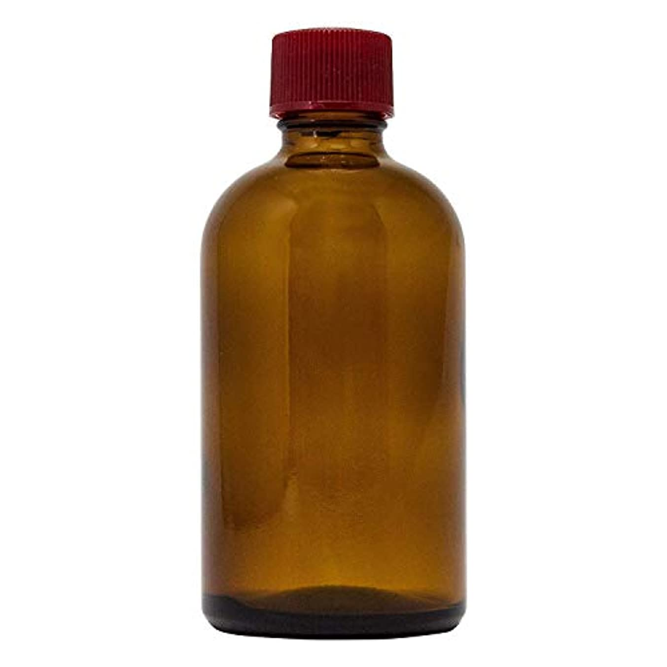 つばボトルネックスケルトン細口ガラス瓶 120ml *穴あき中栓