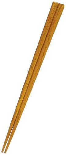 丸十 栗の木箸 クローバー