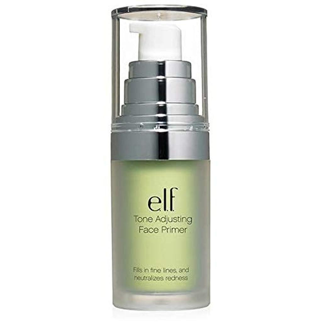かわすアクティビティどれ[Elf ] エルフ。緑の402を中和トーン調整顔プライマー - e.l.f. Tone Adjusting Face Primer Neutralizing Green 402 [並行輸入品]