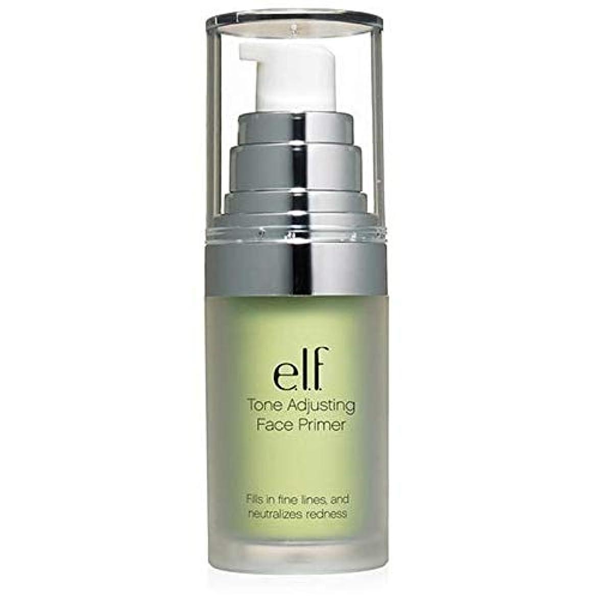 現実したい快適[Elf ] エルフ。緑の402を中和トーン調整顔プライマー - e.l.f. Tone Adjusting Face Primer Neutralizing Green 402 [並行輸入品]