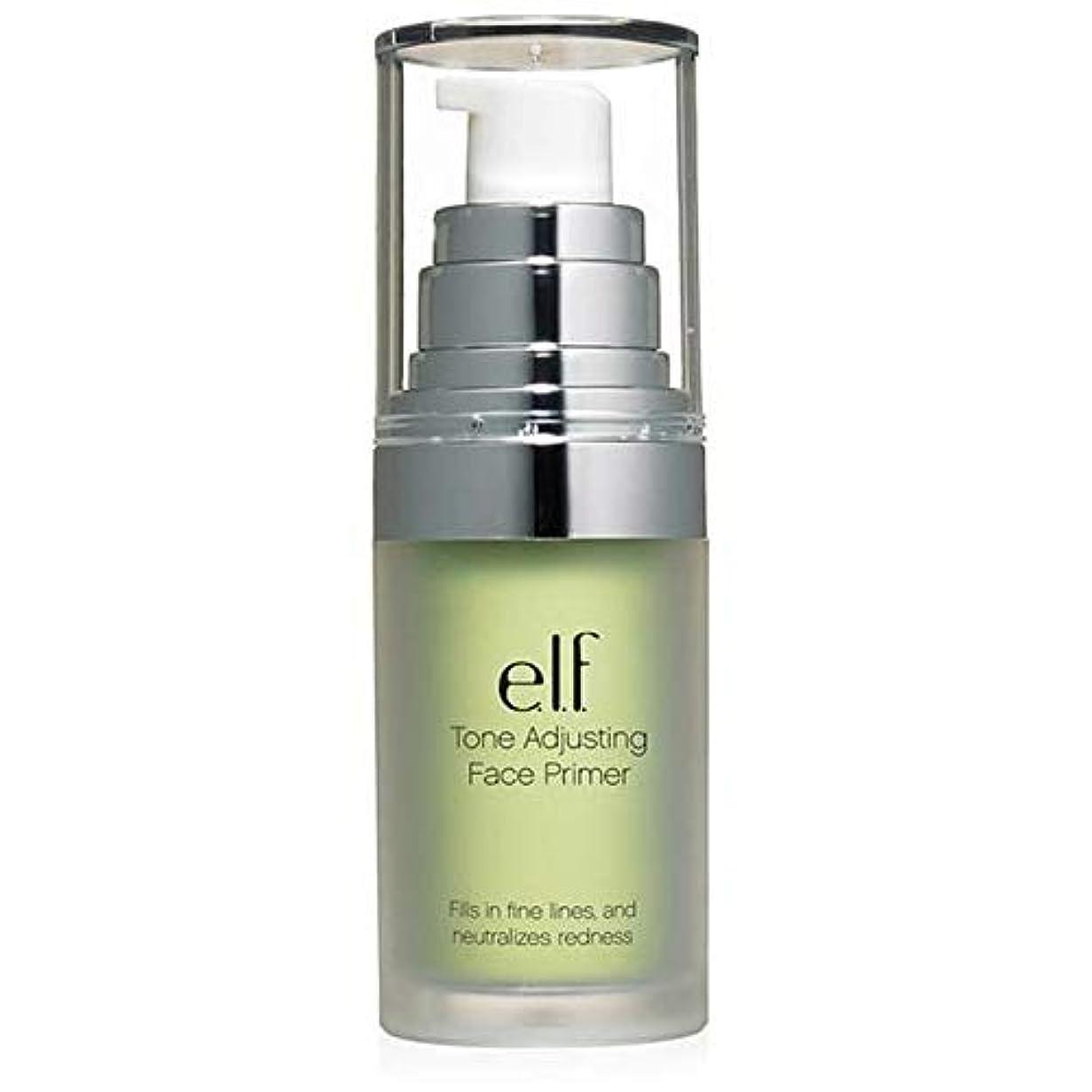 動脈語盟主[Elf ] エルフ。緑の402を中和トーン調整顔プライマー - e.l.f. Tone Adjusting Face Primer Neutralizing Green 402 [並行輸入品]