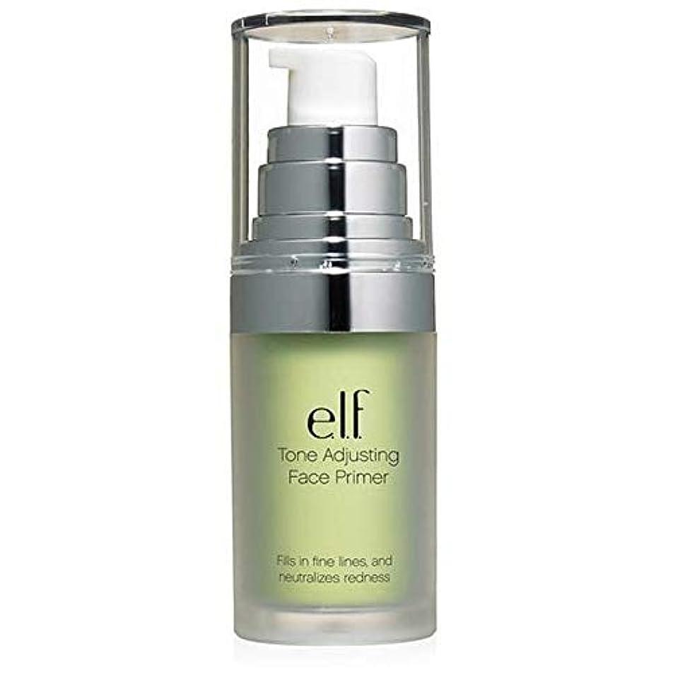 [Elf ] エルフ。緑の402を中和トーン調整顔プライマー - e.l.f. Tone Adjusting Face Primer Neutralizing Green 402 [並行輸入品]