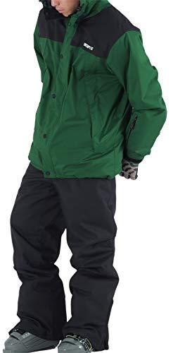 PONTAPES(ポンタぺス) スキー ウェア メンズ レディース 上下セット 全18色 6サイズ XS-XXL 耐水圧30,000mm...