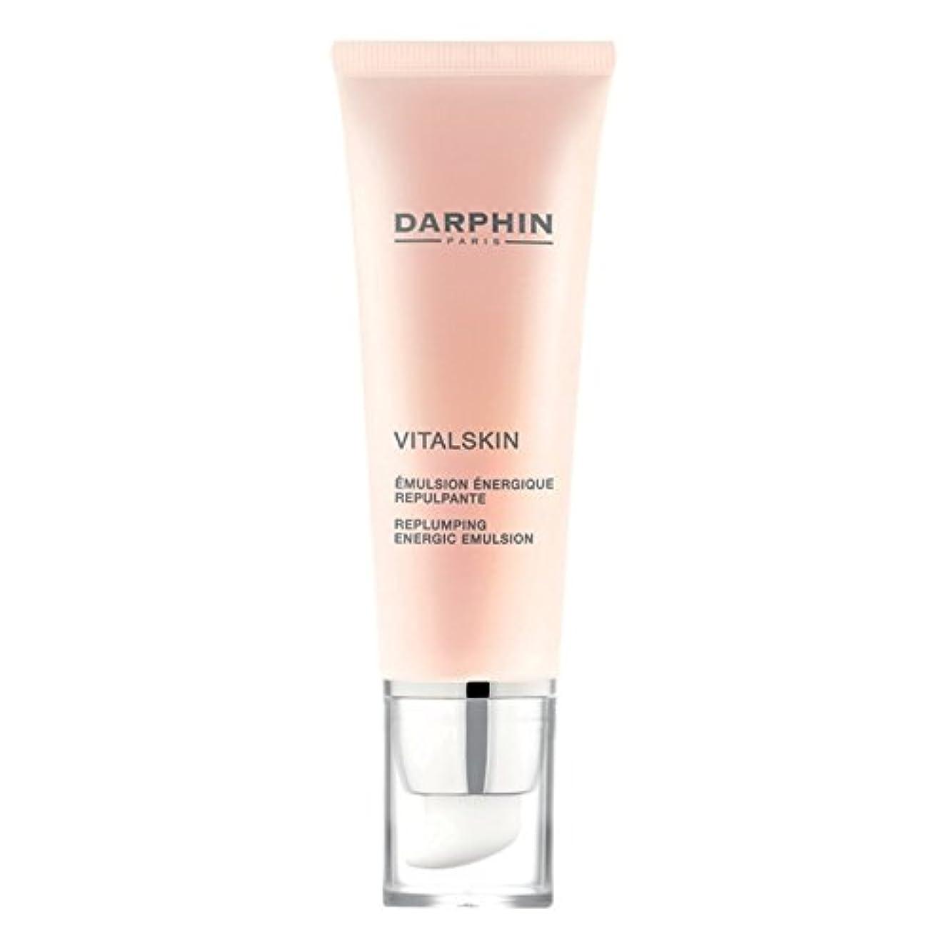 高く感動する呪われたEnergicエマルジョンをReplumping Vitalskinダルファン、50ミリリットル (Darphin) (x6) - Darphin Vitalskin Replumping Energic Emulsion...