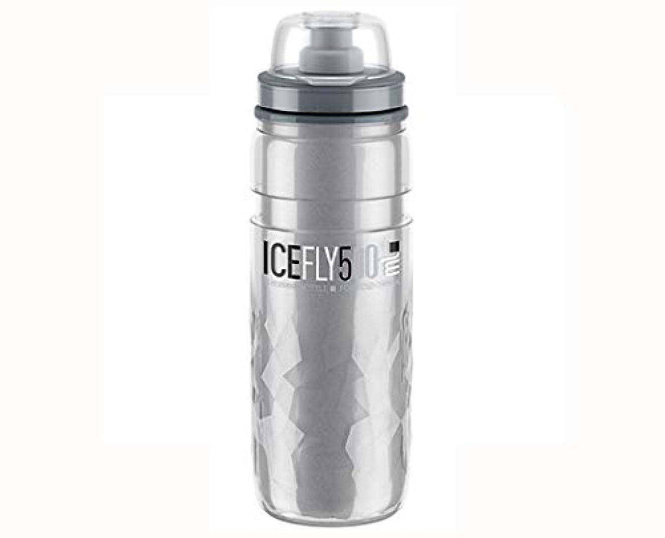 昼食ディスク噴出するELITE(エリート) ICE FLY サーモボトル 500ml [スモーク ]
