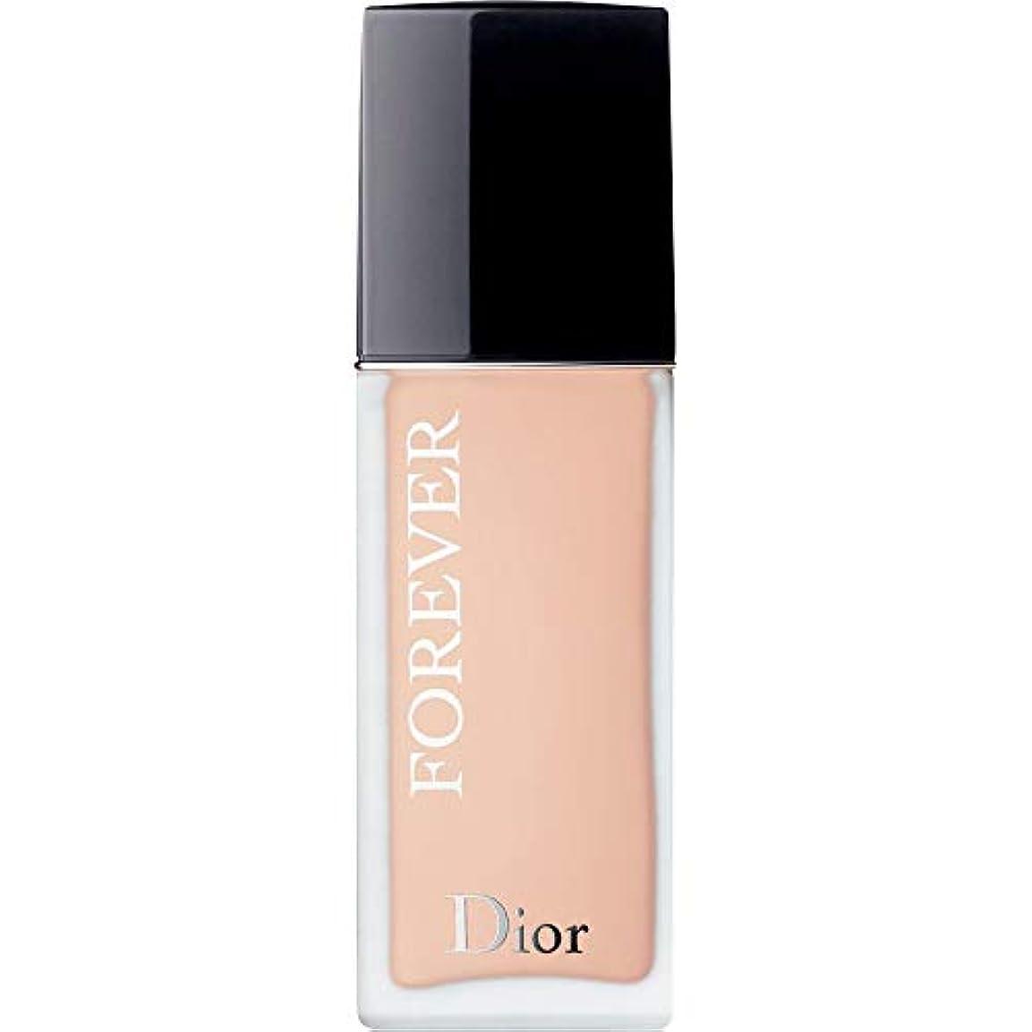 れんが私達によると[Dior ] ディオール永遠皮膚思いやりの基礎Spf35 30ミリリットル1Cに - クール(つや消し) - DIOR Forever Skin-Caring Foundation SPF35 30ml 1C - Cool...