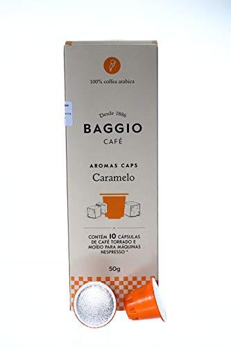 CAFÉ BAGGIO CAFE バジオ カフェ AROMA CAPS ネスプレッソ互換 フレーバー カプセル 10個入 CARAMEL