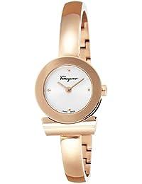 4e45ee9880 [サルヴァトーレ・フェラガモ]Salvatore Ferragamo 腕時計 GANCINOBRACELET シルバー文字盤 ステンレス(PGPVD)  FQ5050014 レディース…