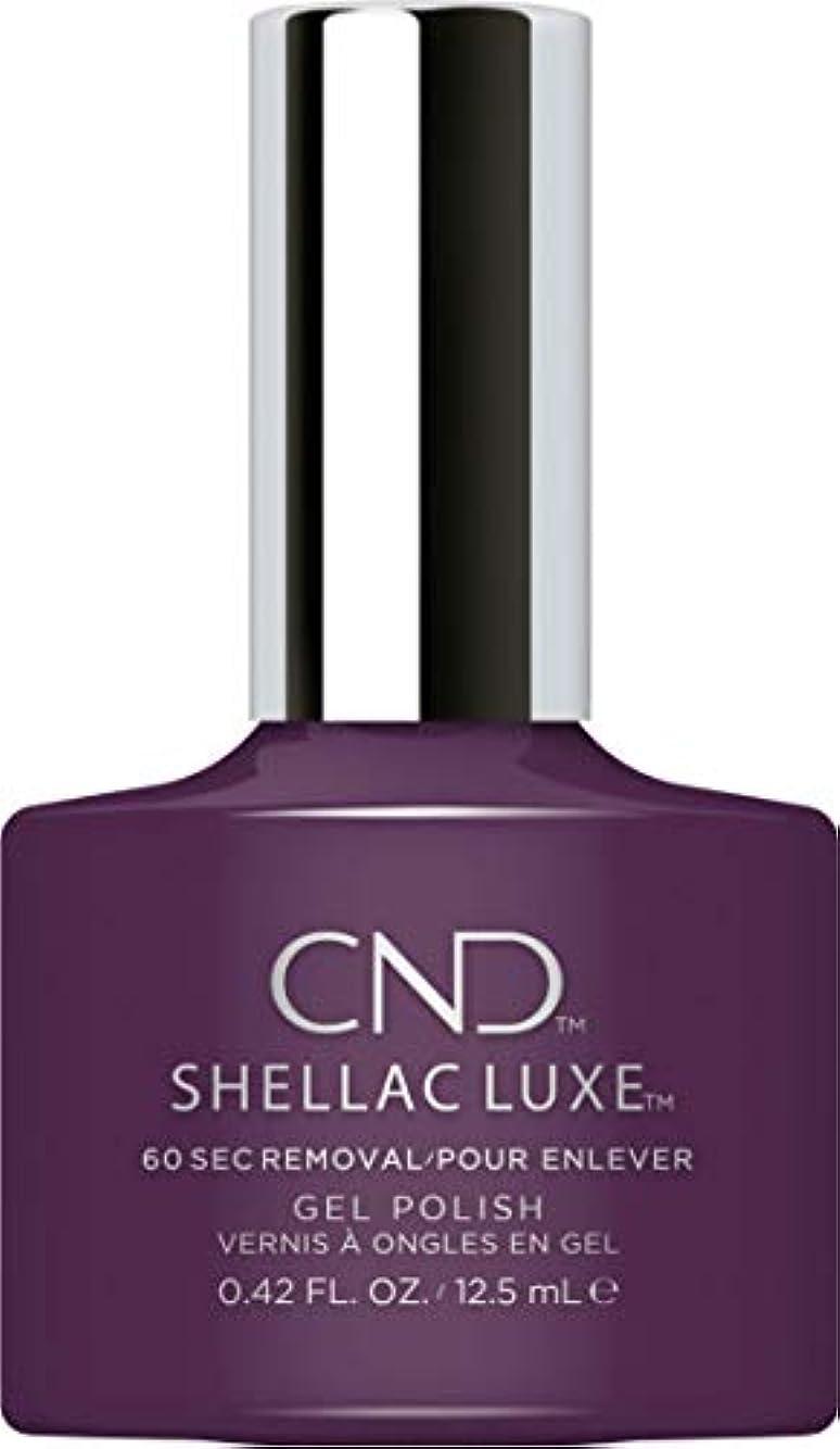 締めるれる全くCND Shellac Luxe - Rock Royalty - 12.5 ml / 0.42 oz