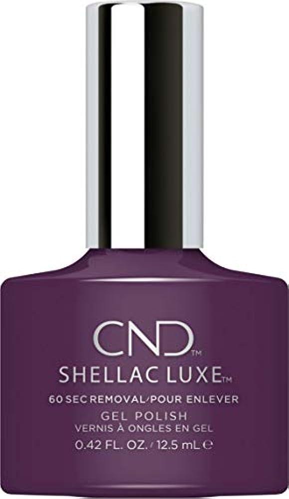 限定心配する単独でCND Shellac Luxe - Rock Royalty - 12.5 ml / 0.42 oz