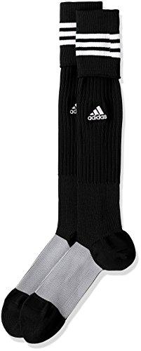(アディダス)adidas サッカーウェア 3ストライプ ゲームソックス MKJ69 [ユニセックス] BS2876 ブラック/ホワイト 19-21cm