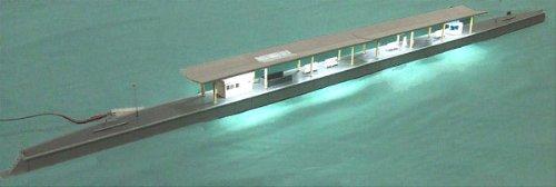 ■【カトー】照明付島式ホームセット(29-704) ストラクチャーKATO鉄道模型Nゲージ
