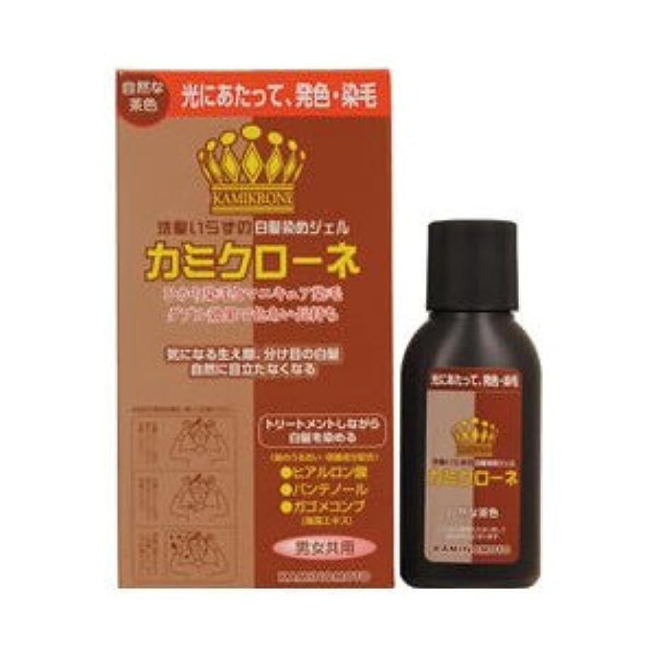 予防接種味わうクランプカミクローネ ナチュラルブラウン × 3個セット