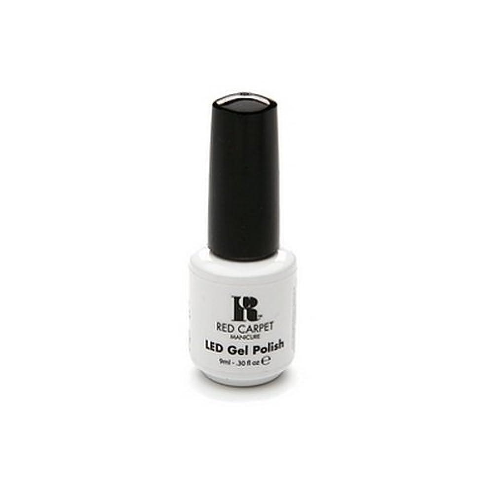 モールスピーチ砲兵Red Carpet Manicure - LED Nail Gel Polish - Iconic Beauty - 0.3oz / 9ml