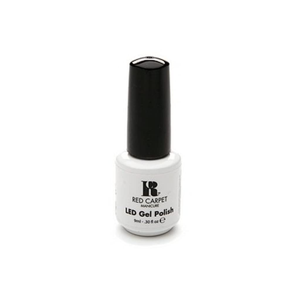 大使スプリット認可Red Carpet Manicure - LED Nail Gel Polish - Iconic Beauty - 0.3oz / 9ml