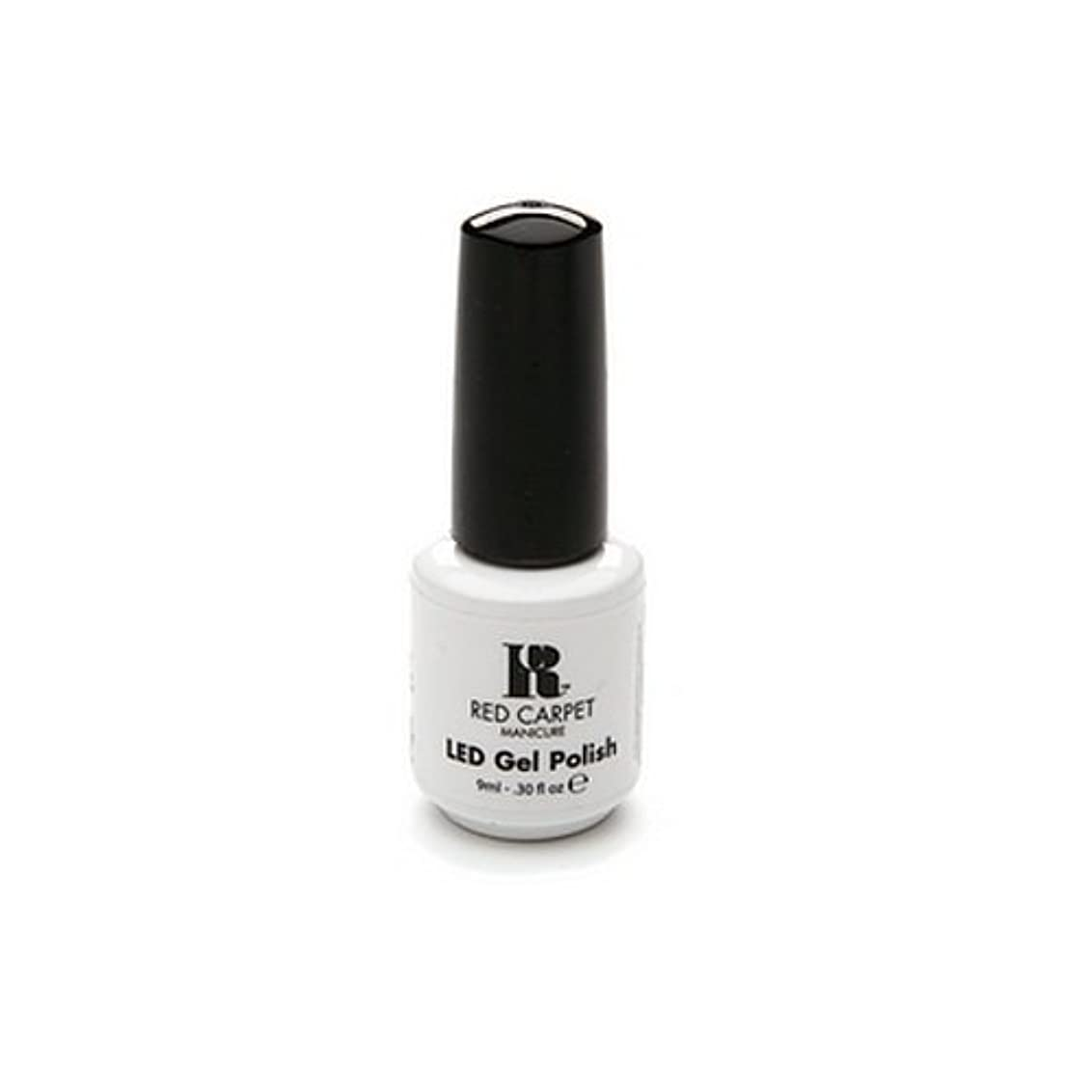 協力する斧赤面Red Carpet Manicure - LED Nail Gel Polish - Iconic Beauty - 0.3oz / 9ml